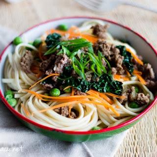 Mince Beef Noodles