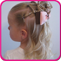 Easy Little Girl Hairstyles icon
