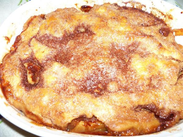 Cinnamon Apple Cobbler Recipe