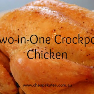 Two-In-One Crockpot Chicken