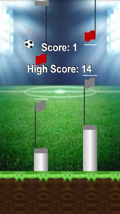 DODGE BALL - Addictive Soccer- screenshot