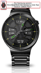 Daring Graphite HD Watch Face- screenshot thumbnail