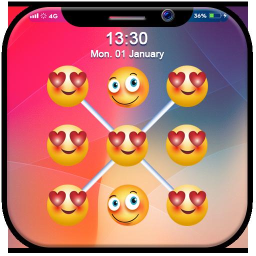 X Emoji App Lock: X Lock Screen
