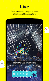 Snapchat- screenshot thumbnail