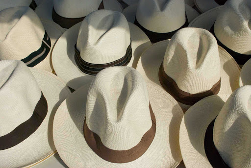 Panama-hats - Yes, they still make Panama hats in Panama.