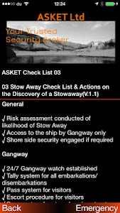 ASKET Maritime Security App screenshot 13