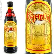 Logo for Kahlua Rum & Coffee Liqueur