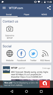 Listen to WTOP- screenshot thumbnail