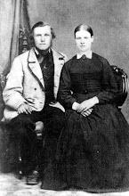 Photo: Anders Rydberg f 1832, Greta Lisa Rydberg f 1826 i Kämpetorp Hjulsjö socken