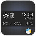 Clock & Daily Hourly  Weather 2.0_release icon