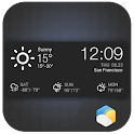 Clock & Daily Hourly  Weather icon