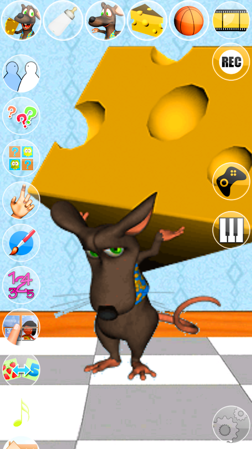 Talking Mike Mouse- screenshot