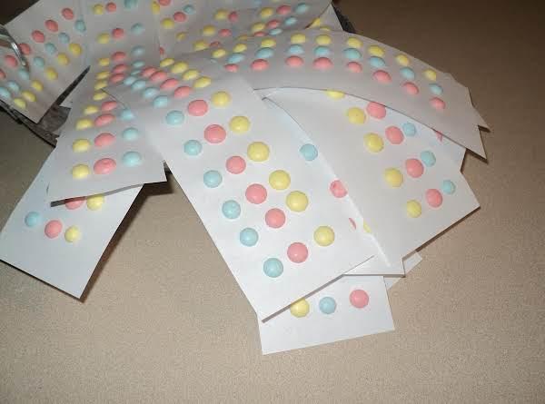 Candy Sugar Dots (old Fashioned) Recipe