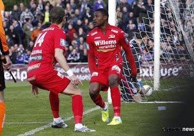 Goed nieuws voor KVO: Akpala is speelgerechtigd voor Anderlecht