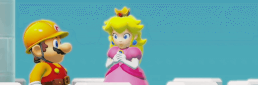 マリオメーカー2_ピーチ姫