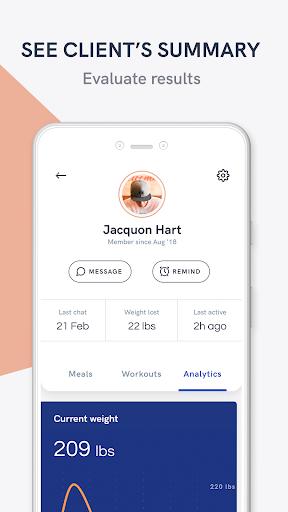 Kilo Fit - coach & trainer app screenshot 6