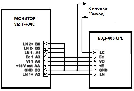 Схема реле видеокамер
