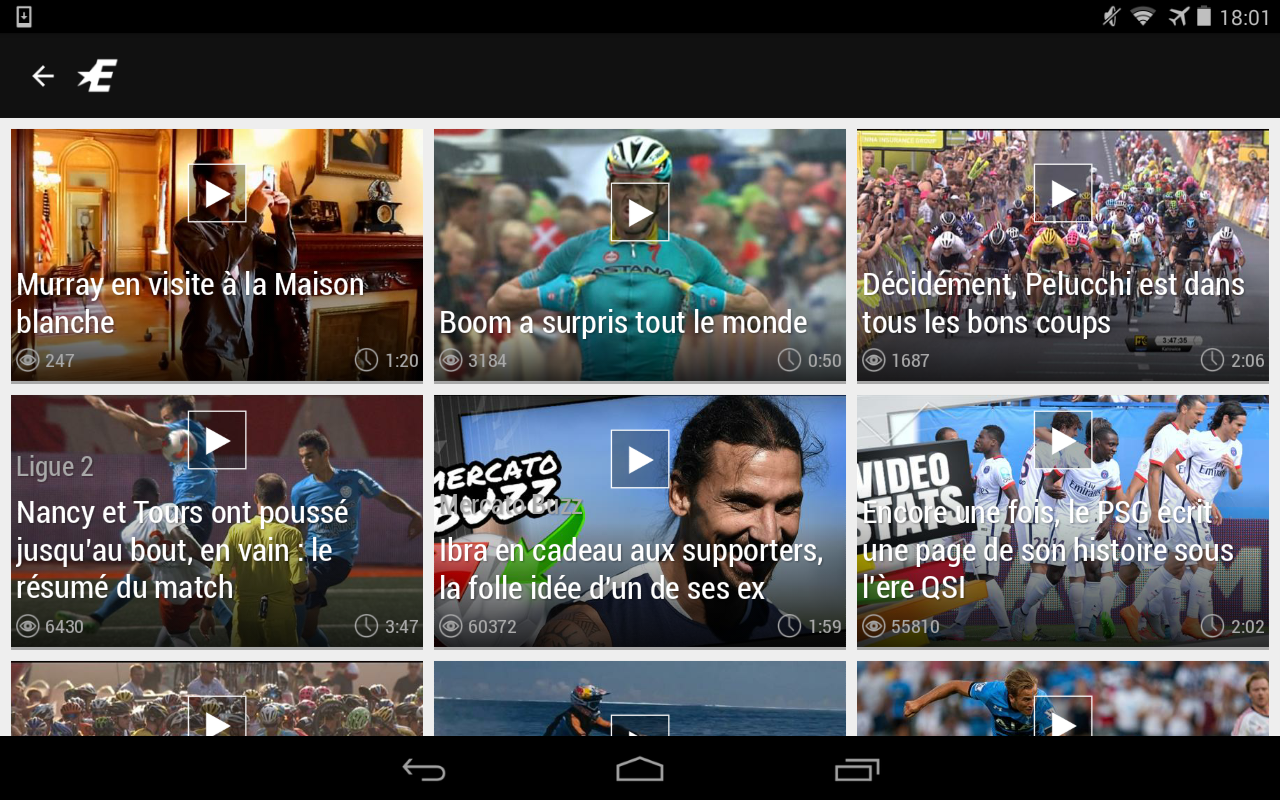 Eurosport.com– Capture d'écran