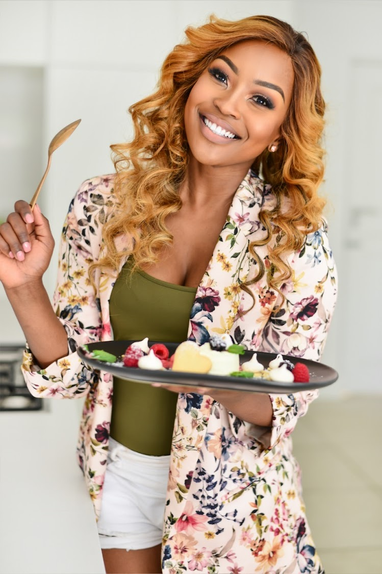 Lorna Maseko hosts the SABC 3 show The Hostess.