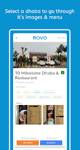 Rovo Trips- Find best dhabas along highways for PC-Windows 7,8,10 and Mac apk screenshot 4