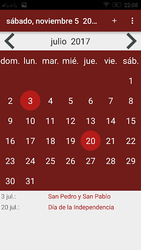Calendario 2017 Colombia.Download Calendario 2017 Colombia Google Play Softwares