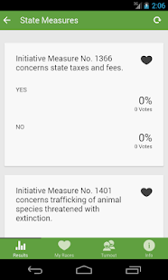 WA State Election Results- screenshot thumbnail