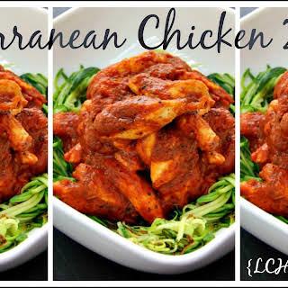 Mediterranean Chicken Zoodles.