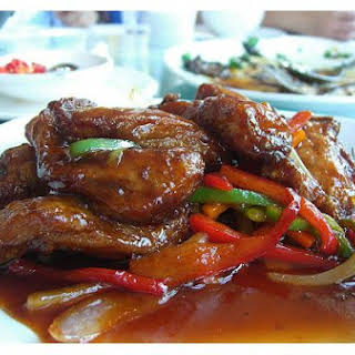 Sweet-and-Sour Spareribs.