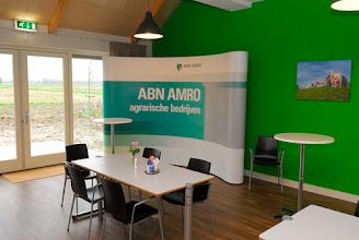 Photo: ABN-AMRO met stand in 'De Stal'