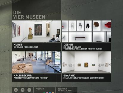 Pinakothek der Moderne- screenshot thumbnail