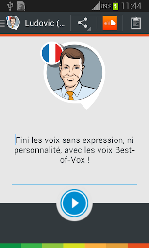 Ludocvic voice French