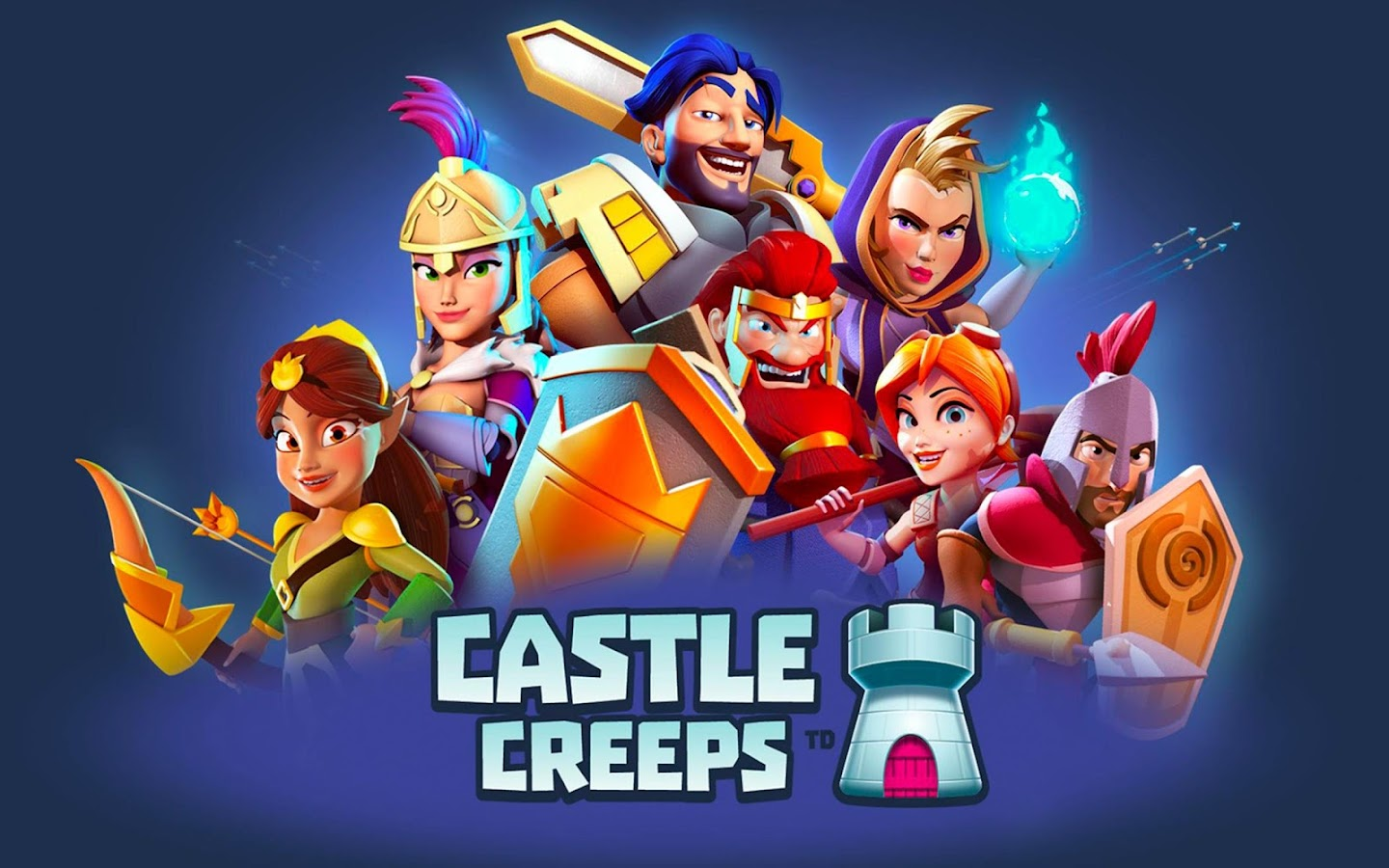 Castle Creeps TD- screenshot