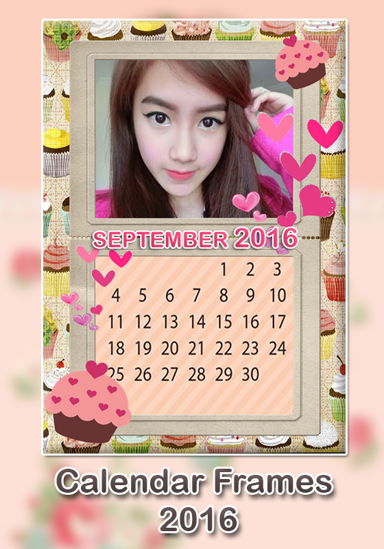 calendar photo frame 2016 screenshot