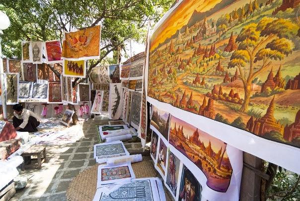Bagan Sand Painting