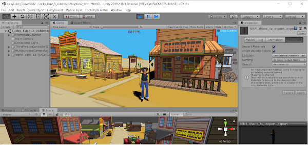Converting vrml to webgl using unity 3D