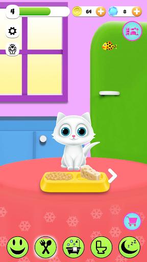 PawPaw Cat | Mon ami chat virtuel qui parle  captures d'écran 2