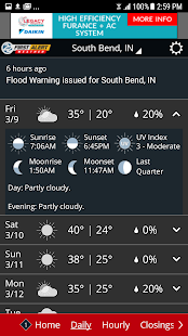 WSBTweather- screenshot thumbnail