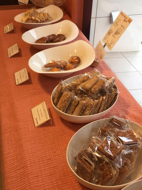 ユウジアジキの焼き菓子
