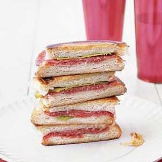 Salami Panini Recipe