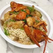 TS21. Braised E-Fu Noodle w/Lobster