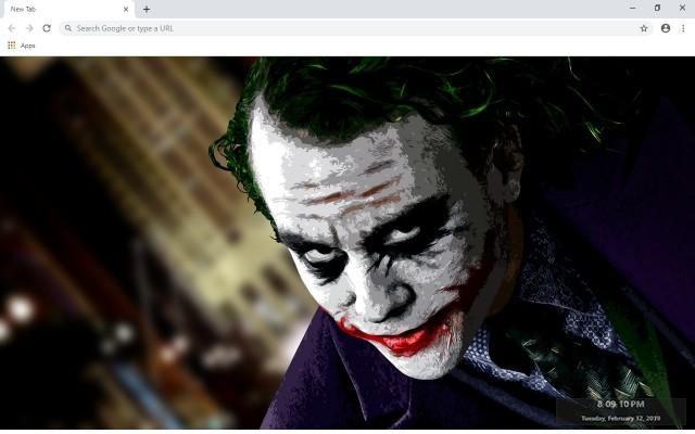 Joker Full HD Custom New Tab