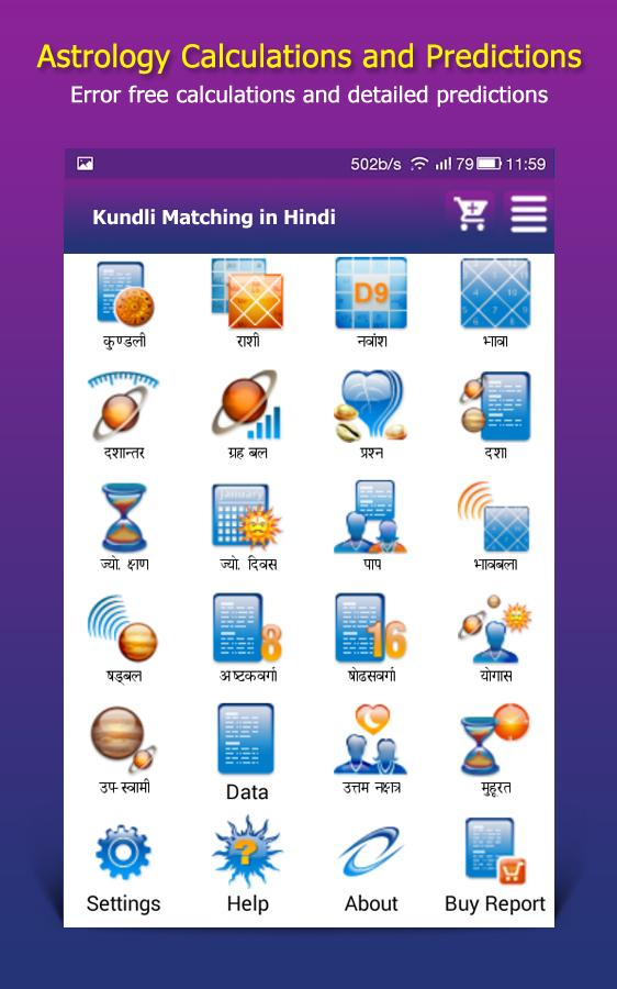 Kundli matchmaking for marriage in hindi