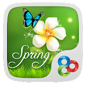 Spring GO LauncherTheme