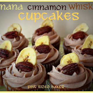 Banana Whiskey Cupcakes