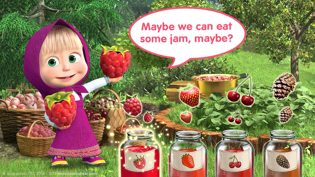Masha and the Bear Child Games screenshot 1