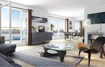 Appartement 5 pièces 108,12 m2