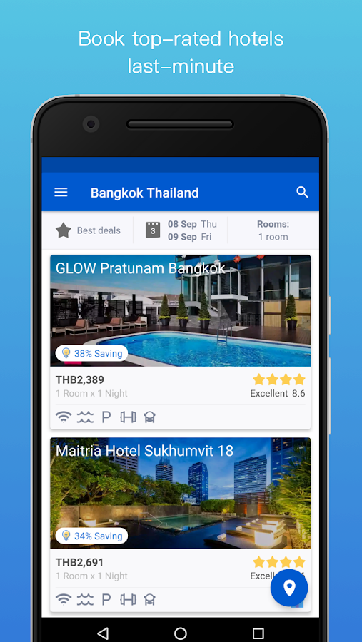 HotelQuickly- Best Hotel Deals- screenshot