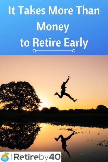 Erken emekli olmak için paradan fazlası gerekir