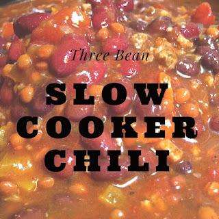 Three Bean Slow Cooker Chili.
