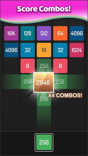 X2 Blocks - Merge Puzzle 2048 APK MOD screenshots 4